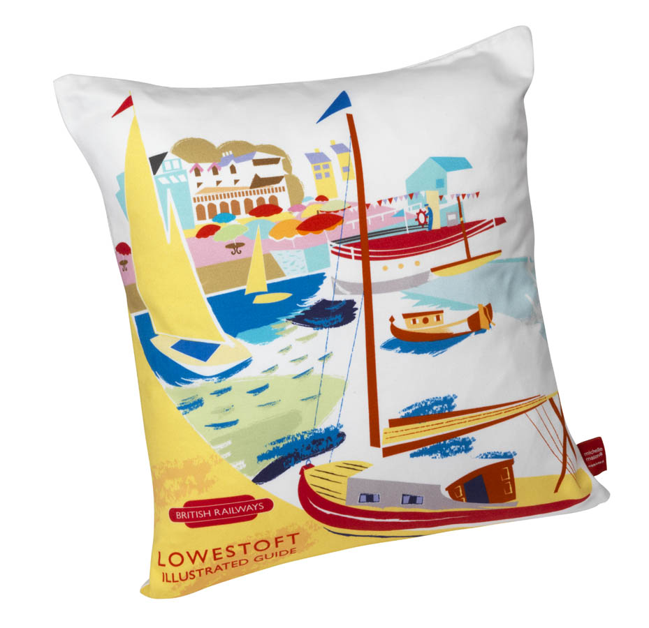 Lowestoft cushion