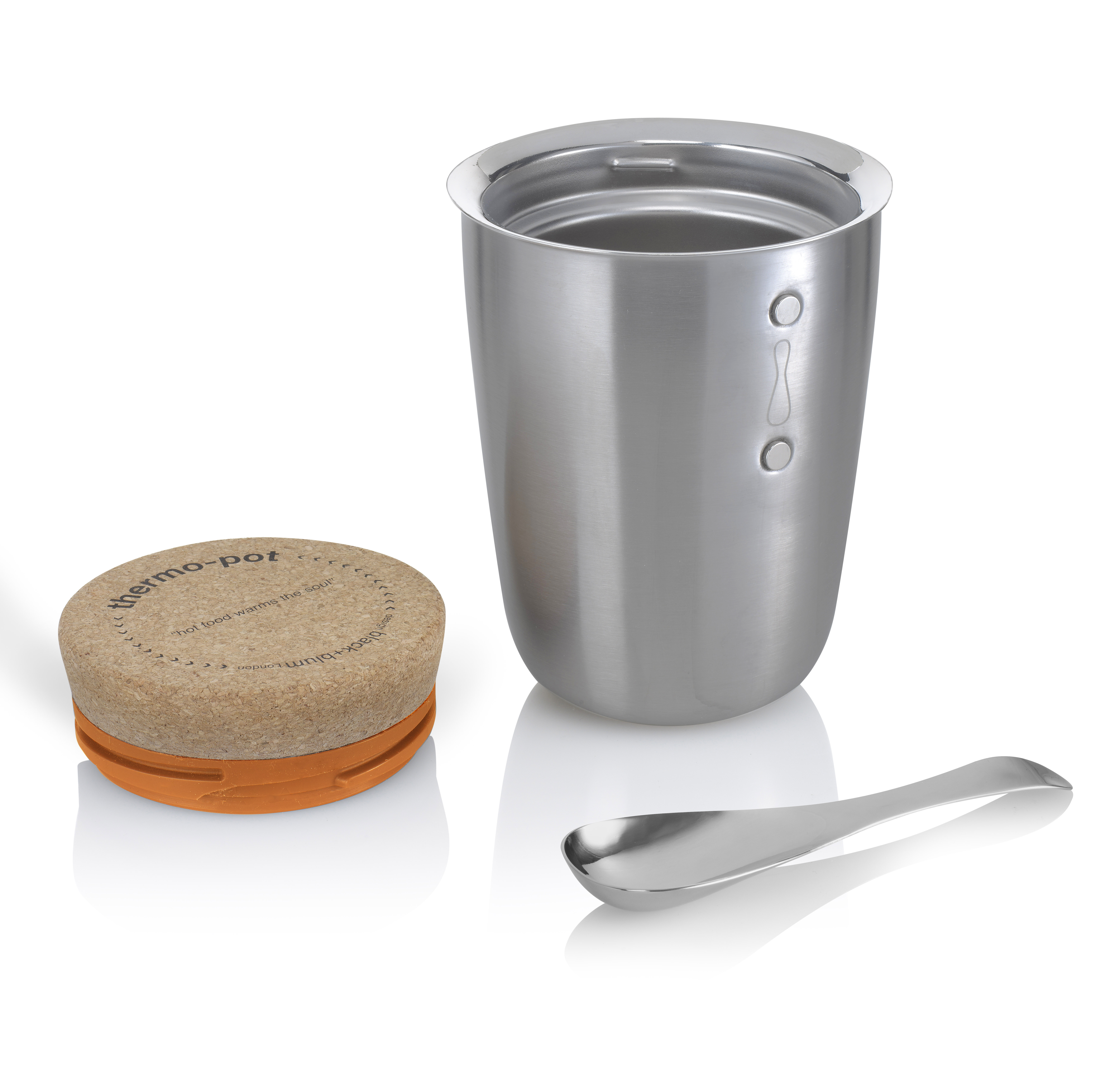 Thermo Pot with spoon by side