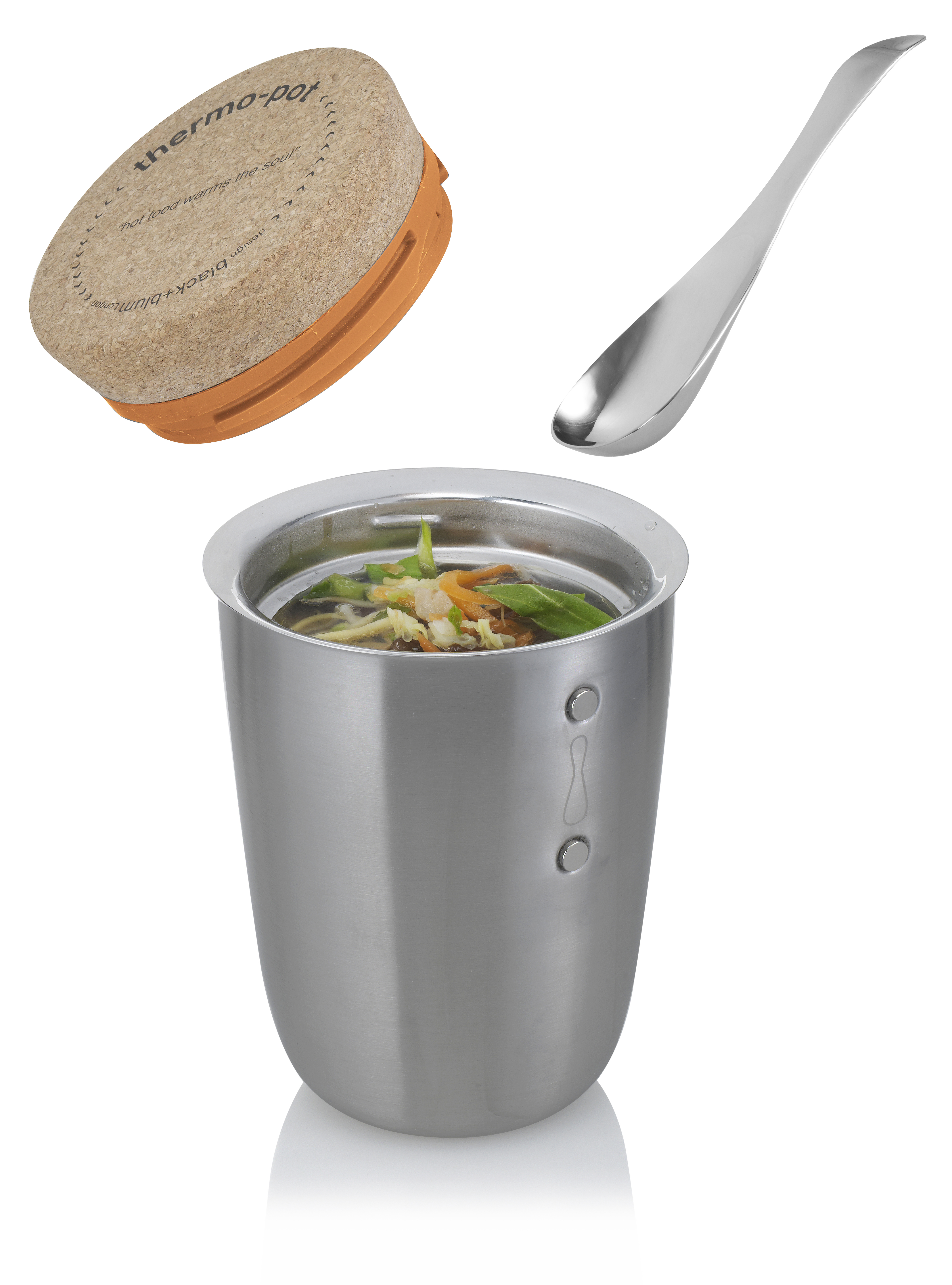 Thermo Pot with spoon