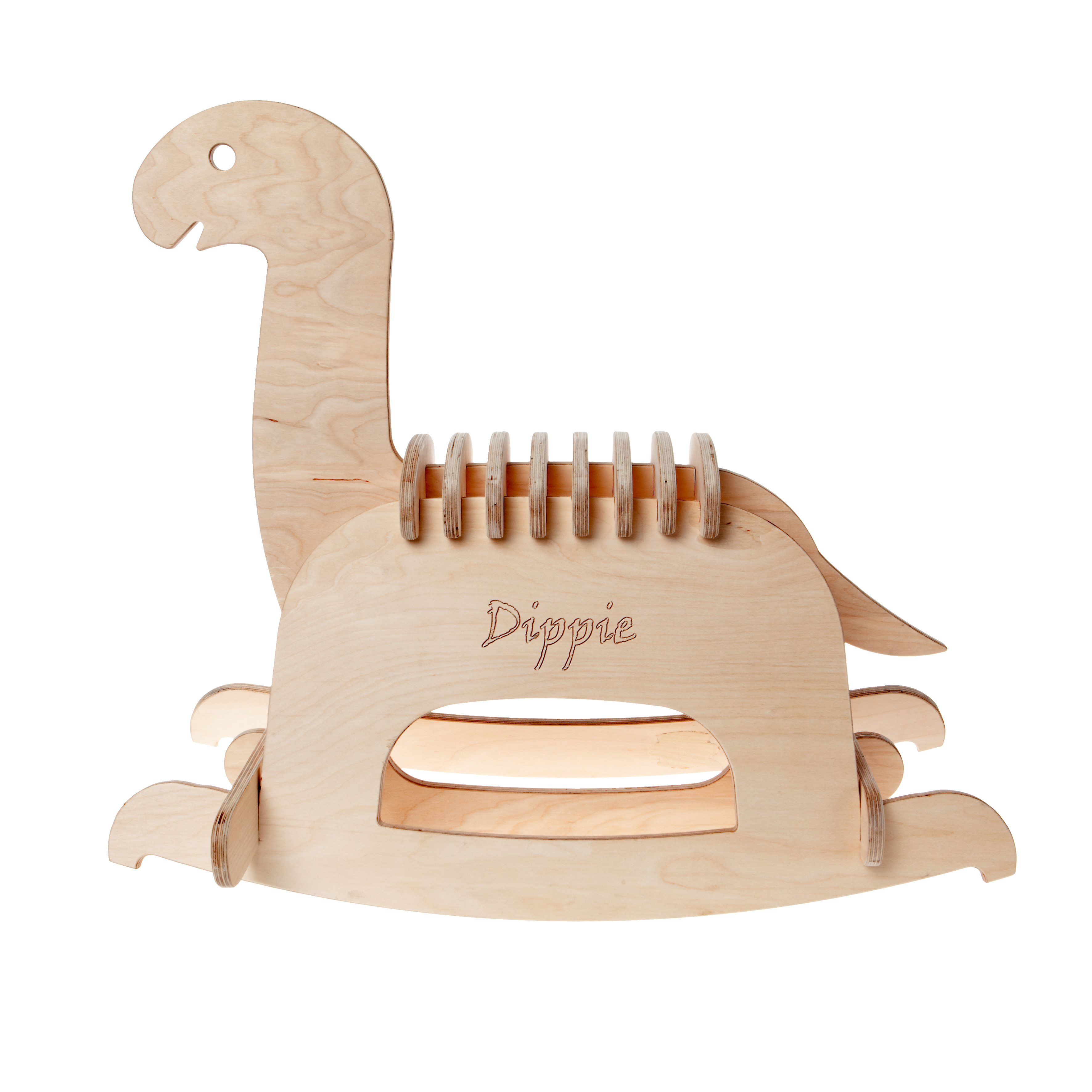 Wooden Diplodocus rocker, £150.00, www.nhmshop.co.uk