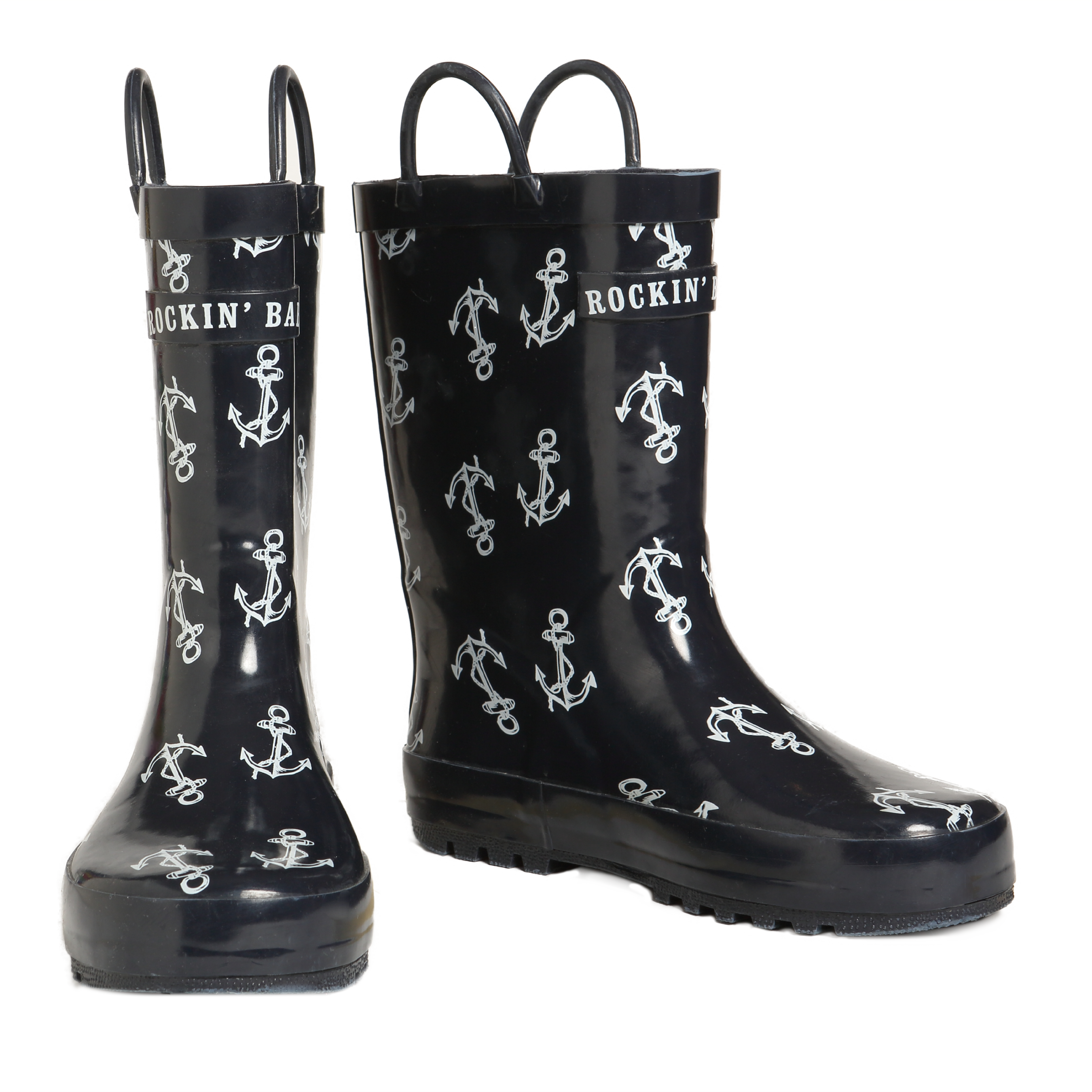 Rockin Baby Splashin Anchor Rainboots £12